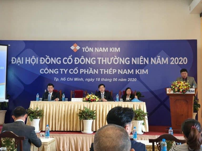 Đại hội cổ đông thường niên tôn Nam Kim