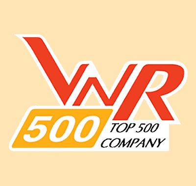 Chứng nhận top 500 công ty phát triển nhanh nhất