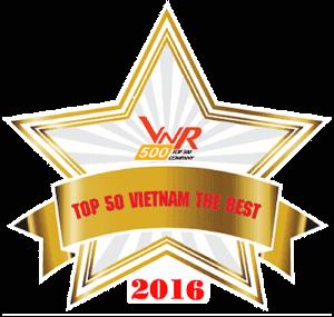 Chứng nhận top 500 công ty phát triển nhanh nhất năm 2016