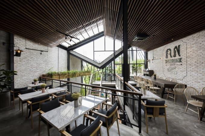 An garden cafe