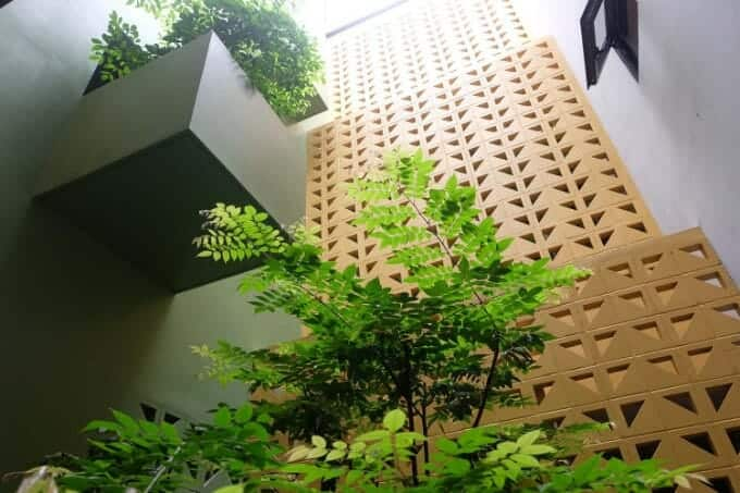 thiết kế giếng trời