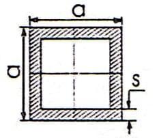 Kích thước thép hộp vuông
