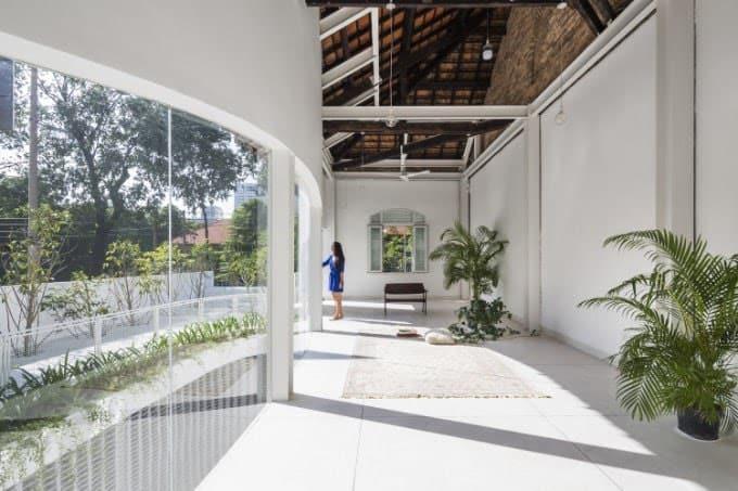 nhà D - Kiến trúc O