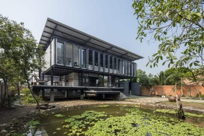 nhà Hoàng Tường - Trường An architecture