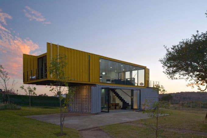 mẫu nhà container đẹp