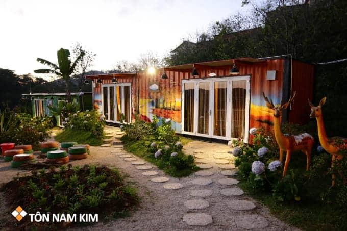 dự án nhà container ở Đà Lạt