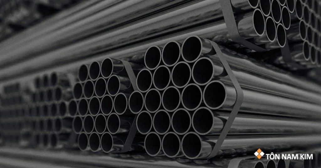 Ống thép mạ kẽm (thép ống tròn): bảng giá mới nhất 2021 từ Tôn Nam Kim