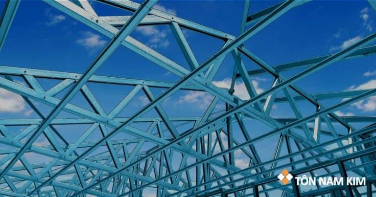 Vì kèo là gì? Vai trò trong hệ kết cấu mái và các loại vì kèo thép thường thấy