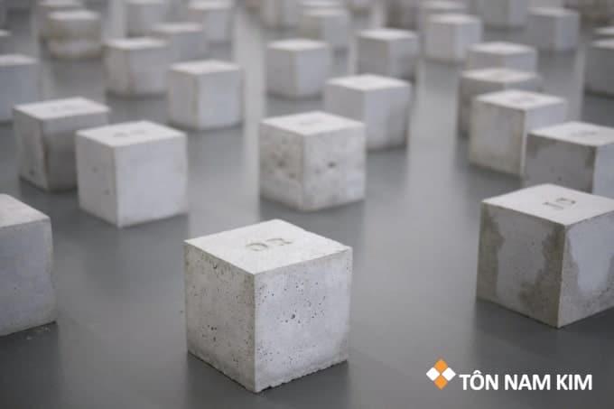 Mác bê tông mẫu lập phương 15x15x15cm