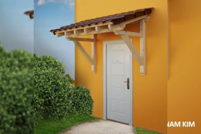ô văng gỗ